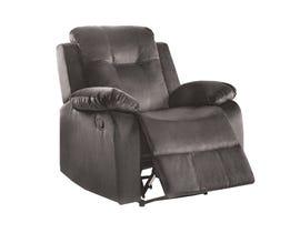 Lifestyle power fabric recliner in grey U1294W