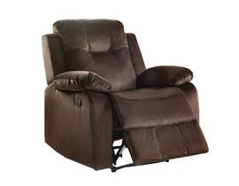 L-style Fabric Power Recliner in Taupe Brown U1294W-21BUBXCCHX