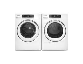 Whirpool 24 Inch Front Load Washer and Dryer Combo in White WFW5090JW & YWHD5090GW