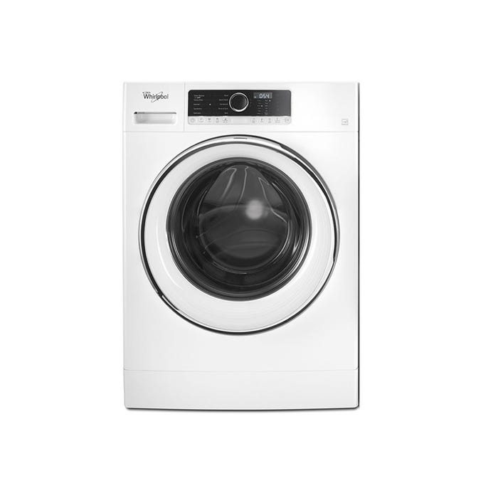 Whirlpool 24 Inch Front Load Steam Washer WFW5090JW