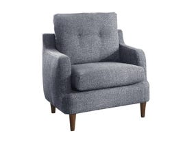 Homelegance Furniture Fabric Chair in Grey 1219