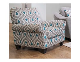Flair Fabric Patterned Accent Chair 1010