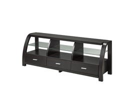 Brassex 60-inch dark cherry TV Stand 11408