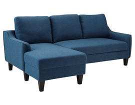 Signature Design by Ashley Jarreau Collection Sofa Chaise in blue 1150271