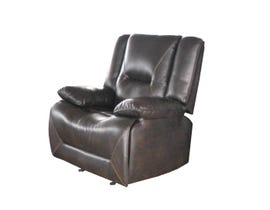 Primo International Leather Match Merit Motion Recliner in Brown 0148