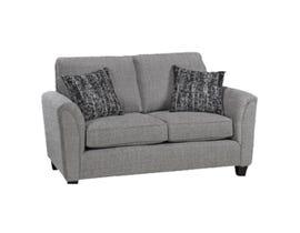 Sofa by Fancy Fabric Loveseat in Sopra 4328