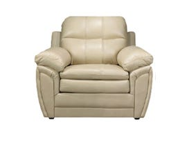 A-Class Leather Gel Chair in Cream 7771