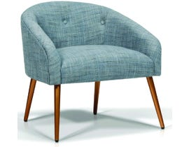 Korson Furniture Design Lounge Chair in Weave Sky