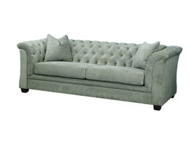 Edgewood Furniture Sofa 1593-38 in pewter
