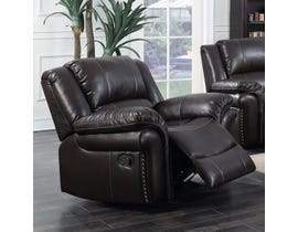 Motion Reclining Chair in Espresso UPH3186L