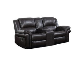 Motion Reclining Loveseat w/Console in Espresso UPH3186L