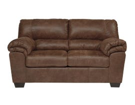 Signature Design by Ashley Bladen Collection Fabric Loveseat in Coffee 1200035