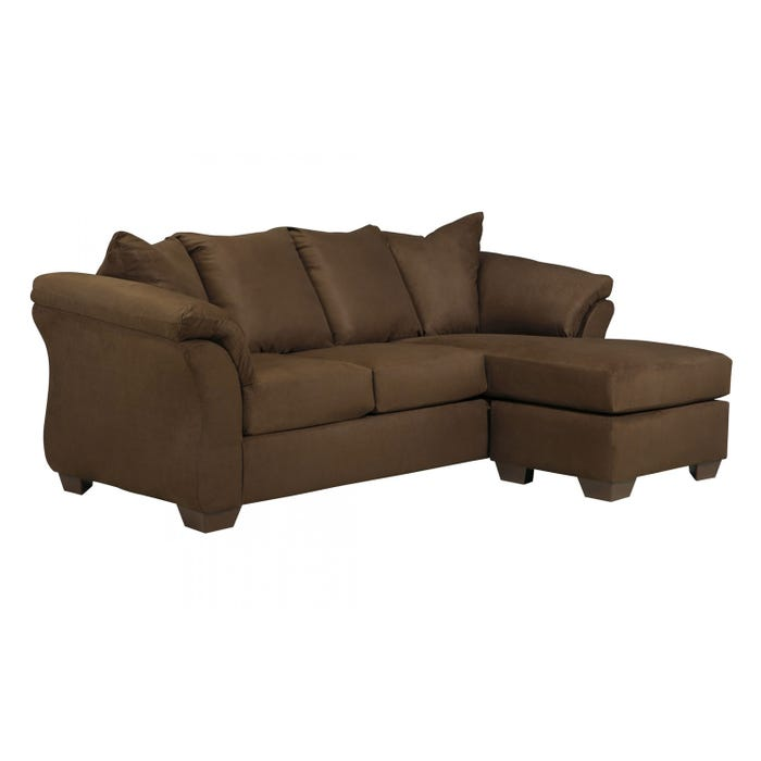 Signature Design by Ashley Sofa Chaise darcy in cafe brown 7500418