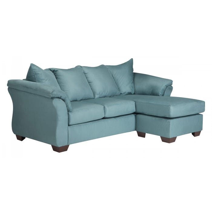 Signature Design by Ashley Sofa Chaise Darcy in sky blue 7500618