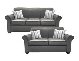 A&C Furniture 2pc Sofa Set in Nexus 058