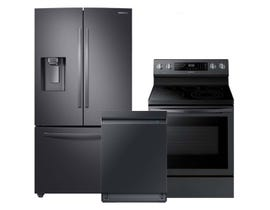 Samsung 3pc Appliances Package in Black Stainless 122314/121278/120662