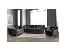 Sofa by Fancy 3-PC Fabric Sofa Set in Richmond Mocha 2295