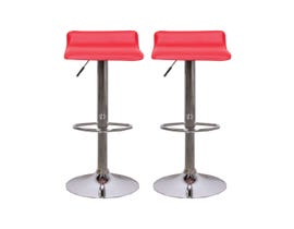 Mazin Furniture Bar Stool in Red ST-8111
