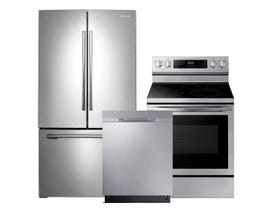 Samsung 3-Pc Appliance Package in Stainless 123903/101306/121276