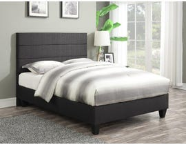 PR Furniture Addy Series Upholstered Queen Bed in Night Tweed N1843