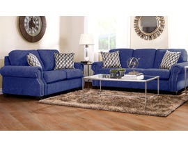 Decor-Rest Rico Collection 2 pc Fabric Sofa Set 2279