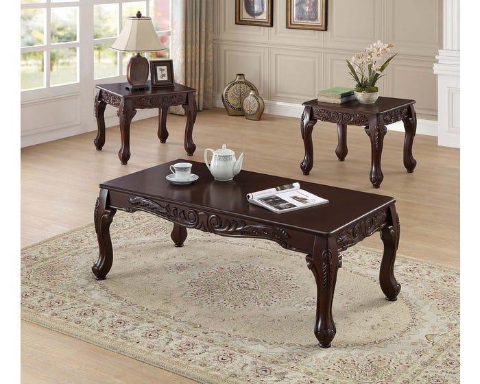 Coffee Table Set International If 2090 Brown Lastman S Bad Boy