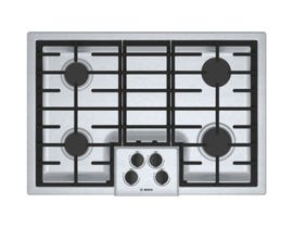 Bosch 30 inch Built-In Gas Cooktop in Stainless Steel NGM5056UC