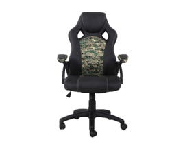 Brassex Gaming Chair in Black/Camo 1273