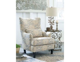 Signature Design by Ashley Aramore Collection Fabric Accent Chair in Fog 12805