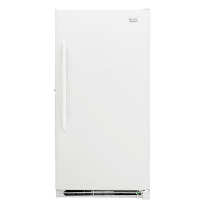 Frigidaire 34 inch 17 cu.ft. upright freezer in white FFFH17F4QW