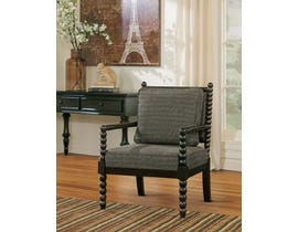 Signature Design by Ashley Milari Collection Fabric Accent Chair in Umber 13000