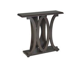 Brassex Console Table in Dark Brown 13704