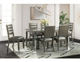 High Society 14.5 Series 7PC Dining Set in Grey