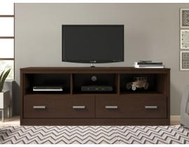 Brassex 59 inch TV Stand in Tobacco 144-59-TB