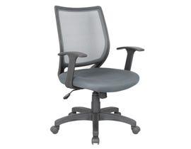 Brassex August Series Office Chair in Grey 1490