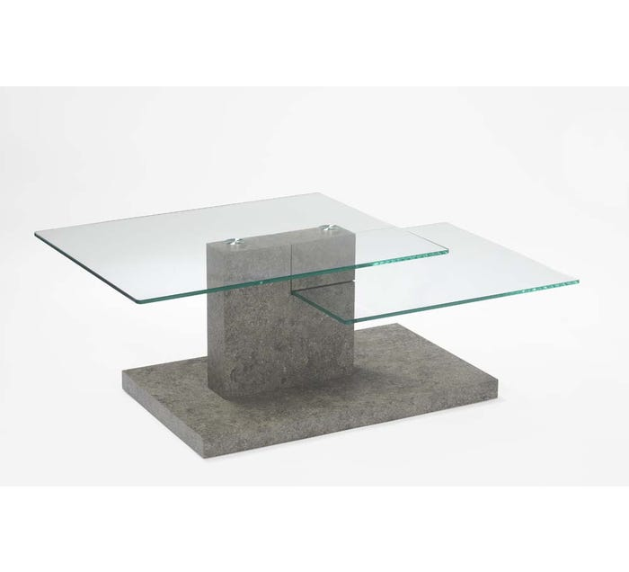 Chateau Imports Glass Coffee Table 153