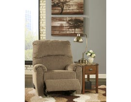 Signature Design by Ashley fabric Zero Wall Recliner Pranit Cork in brown 1610129