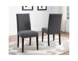 Brassex Avery Side Chair Grey (Set of 2) 162-22-GR