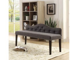 K Elite Athena Elegant Bench Dark Grey 1649