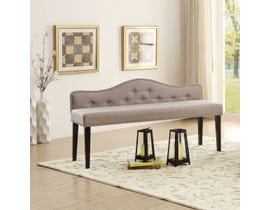 K Elite Athena Elegant Bench Light Grey 1649