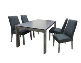 Chateau 5pc Dining Set in Grey 1652DT