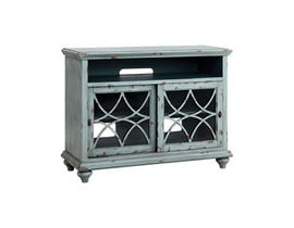 """Stein World Bethania 44"""" Entertainment Console in Blue ST_16603"""