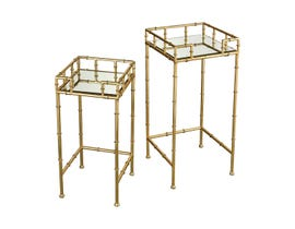 Stein World King Priam Accent Tables in Gold ST_16706