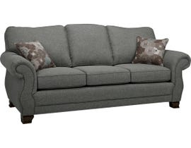 SBF Upholstery Kingston Series Fabric Sofa in Arbour Grey 1683