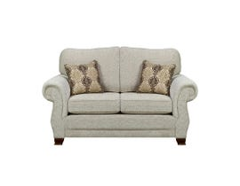 Sofa by Fancy Kingston Collection Fabric Loveseat in Sage Beige 1683-2