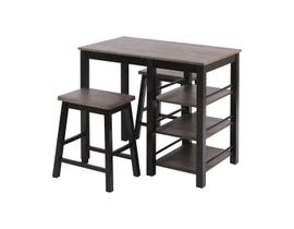 Stein World McConnell Dining Set in Grey Brown Acacia For Top ST_17009