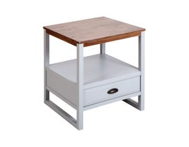 Stein World Hingham Accent Table in Light Grey ST_17101