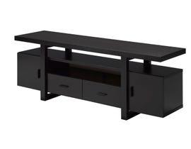 Brassex dark cherry 60-inch TV stand 171999