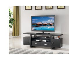 Brassex 60-inch TV Stand Dark Cherry 171999-RC