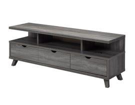 Brassex grey 60-inch TV stand 172003-GR